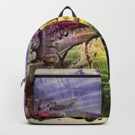 abstract composition 3 . artwork Backpack
