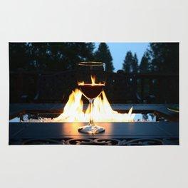 Fireside Wine I Rug