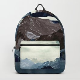 Winter  mountains Backpack
