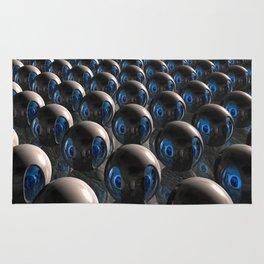 Alien Invasion At Dawn Rug