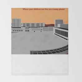 Pripyat City Square #2 Throw Blanket