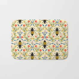 Bee Garden - Cream Bath Mat