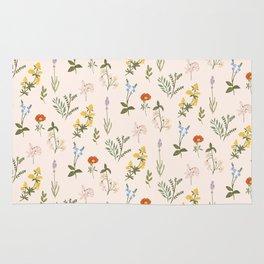 Garden Tale Pattern Rug
