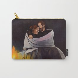 fireplace cuddles // kabby Carry-All Pouch