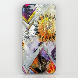 """Burn Bright"" Original Painting by Flora Bowley iPhone Skin"
