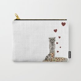 Trash Panda Hearts Pizza Carry-All Pouch