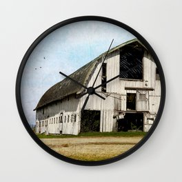 country barn Wall Clock