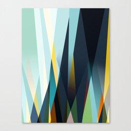 mid century geometry Canvas Print