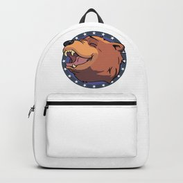 Cheeseburger! The bear Backpack