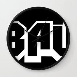 The A-BAUM Logo White Wall Clock