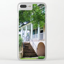 Stewart Parker House Back Clear iPhone Case
