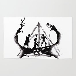 The Three Brothers Inktober Drawing Rug