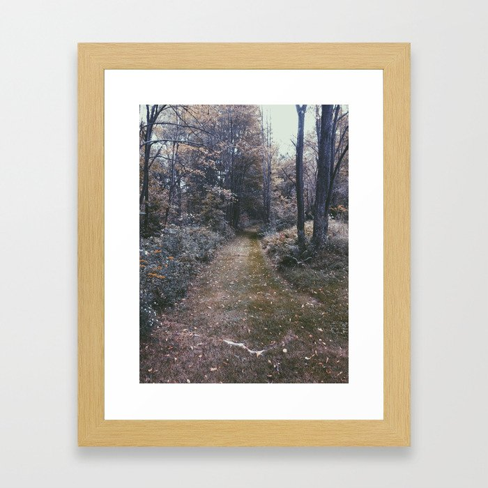 Dead Woods Framed Art Print