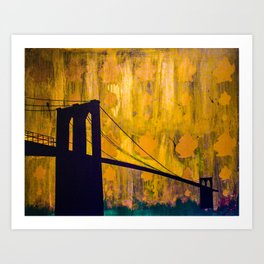 BK Bridge Case Art Print