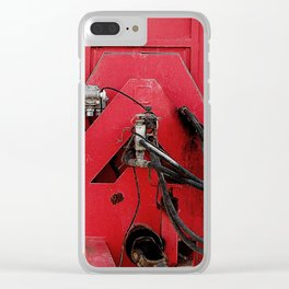 Caputo Farm Machine Clear iPhone Case