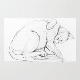 Cat II   /  Chat II   /  Gato II Rug