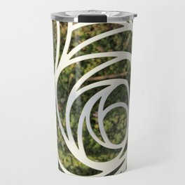 Abstract Rose Travel Mug