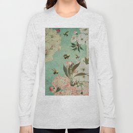 Cherry Blossoms Long Sleeve T-shirt