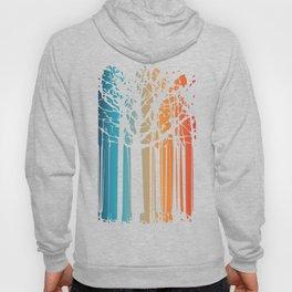 Magic colored trees II Hoody