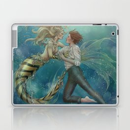 ChloNath - By The Sea Laptop & iPad Skin