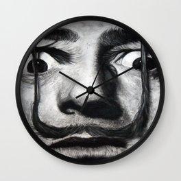 I am drugs ( Salvador Dali ) Wall Clock