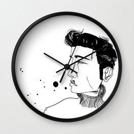 1950's Heart Throb Wall Clock