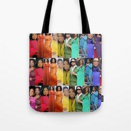 Oprah Spectrum collage Tote Bag