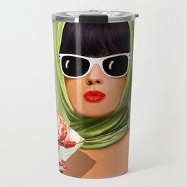 Summer love, summer ... sun and ice cream Travel Mug