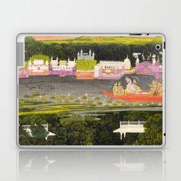 Radha and Krishna in the boat of love, 1755 Laptop & iPad Skin