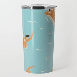 Blue Hawaii Travel Mug