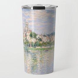 Vetheuil in Summer 1880 by Claude Monet Travel Mug