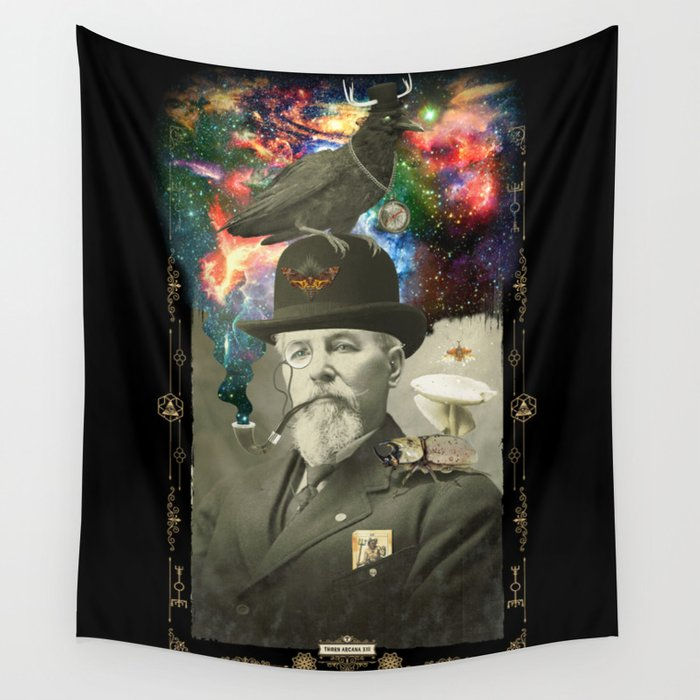 Odd Scientist Wall Tapestry