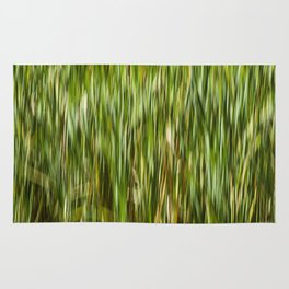 Abstracted Water Grasses in Jackson Park Rug