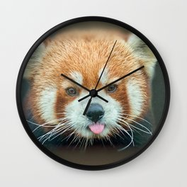 PANDA-RING TO ONE'S TASTE Wall Clock