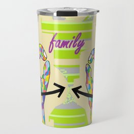 American Sign Language FAMILY Travel Mug