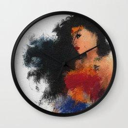 Diana Prince Wall Clock