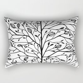 Branches and Buds Rectangular Pillow