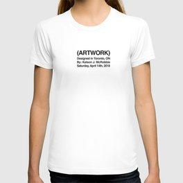 (ARTWORK) White T-shirt