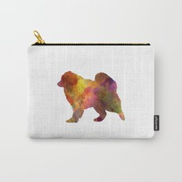 Samoyed in watercolor Carry-All Pouch
