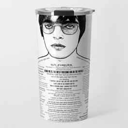 Liam Gallagher - 'Brotherly Love' - Ink'd Series Travel Mug