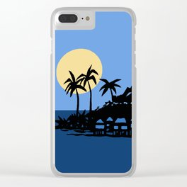 Southern Island Clear iPhone Case