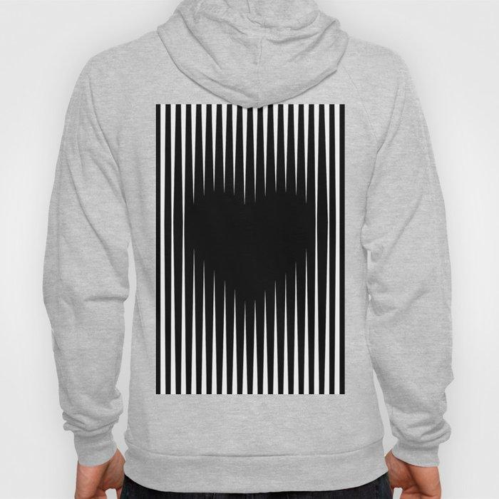 Heart optical illusion art #society6 #decor #buyart #artprint Hoody