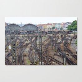 Prague Train Station Canvas Print