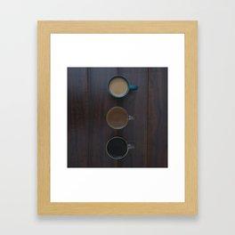 Café, S'il Vous Plait Framed Art Print