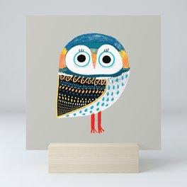 cutest owl Mini Art Print