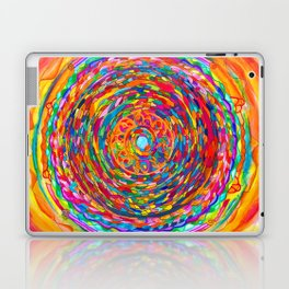 The Flag of the United States of Humankind Laptop & iPad Skin