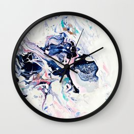 Paint Puddle #07 Wall Clock