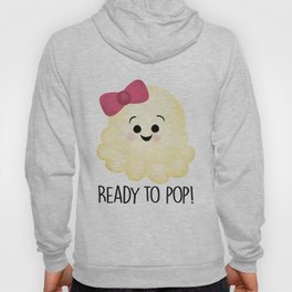 Ready To Pop - Popcorn Pink Bow Hoody