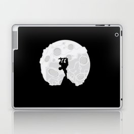 Skater Moon Laptop & iPad Skin