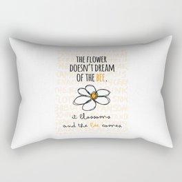Dream of the Bee Rectangular Pillow